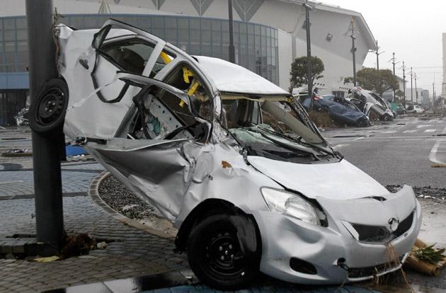 Daños del Tsunami en Japón